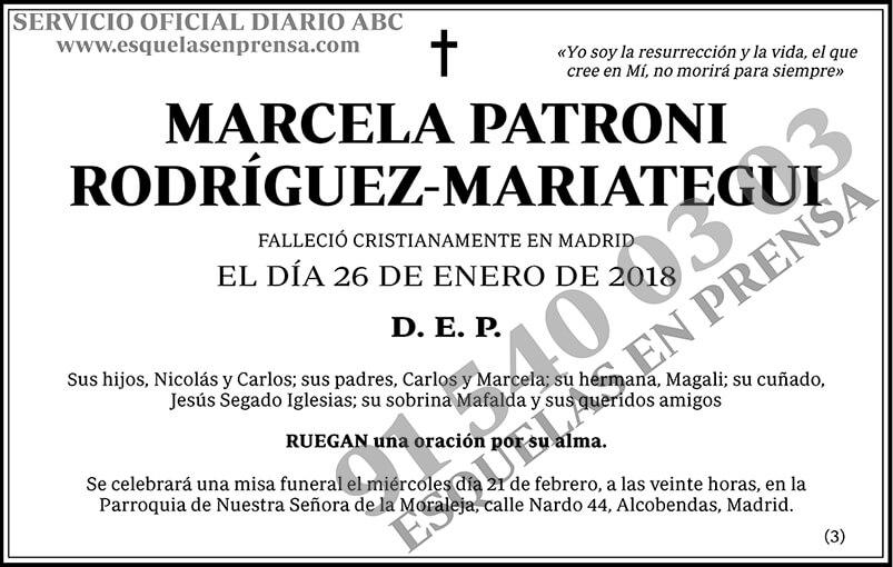 Marcela Patroni Rodríguez-Mariategui